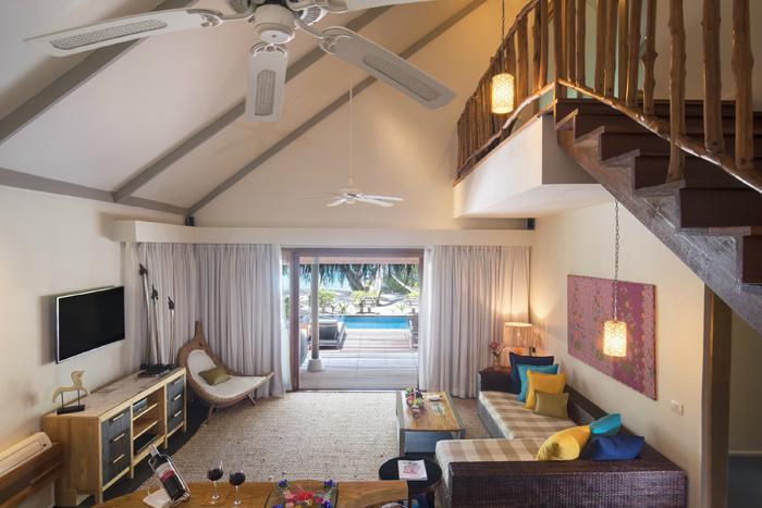 タージコーラルリーフ 天井が高く開放的な造りのお部屋