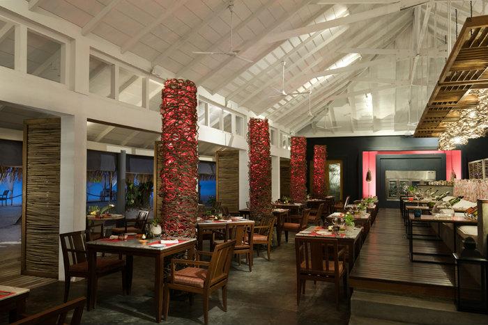タージコーラルリーフ レストラン
