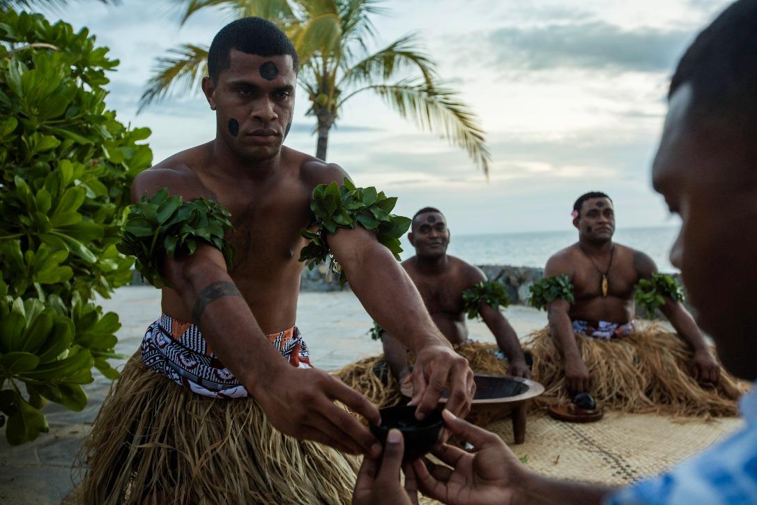 伝統的なカバの儀式